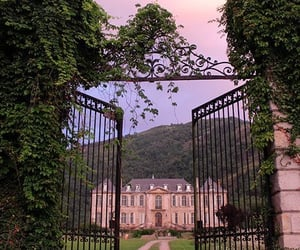 chateau, france, and travel image