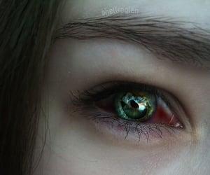 blood, dark, and eye image