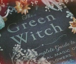 book, fantasy, and green image