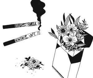 flowers, art, and awesome image