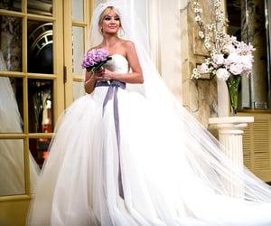 dress, wedding, and weddingdress image