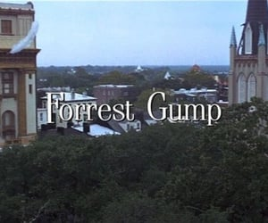 forrest gump and title card image