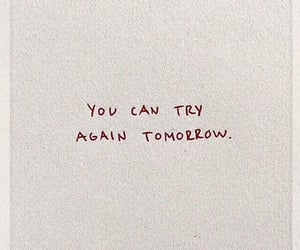 quotes, tomorrow, and motivation image