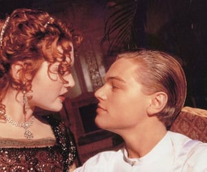 leonardo dicaprio, titanic, and kate winslet image