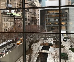 buildings, city, and MOMA image
