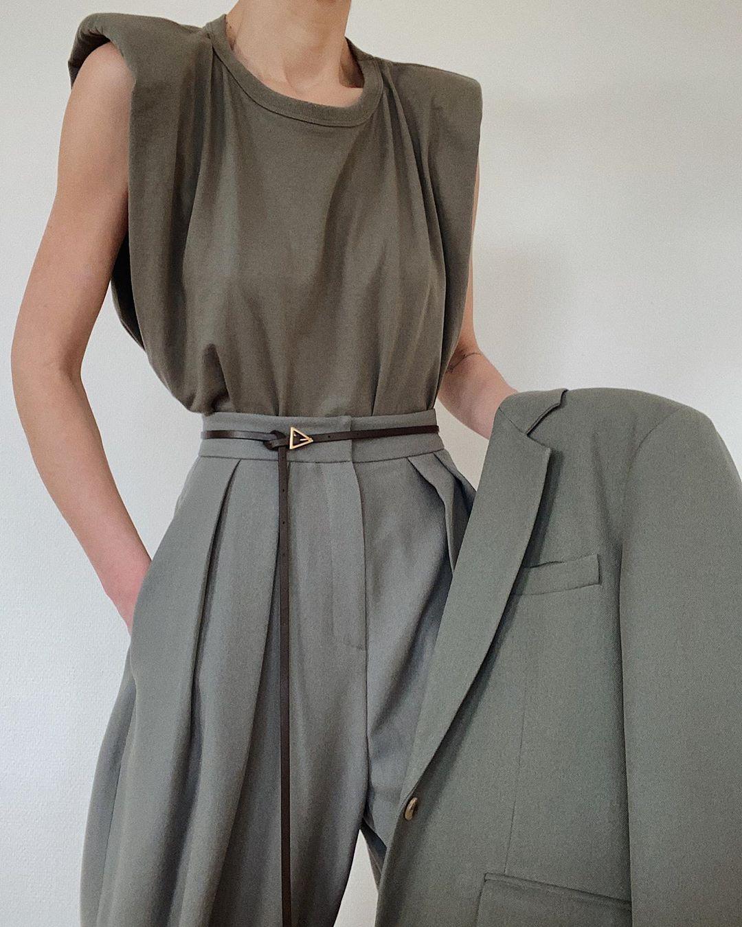 blazer, bottega veneta, and fashion image