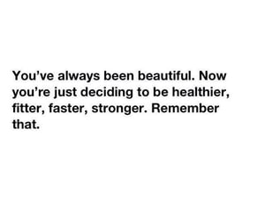 beautiful, motivation, and healthy image