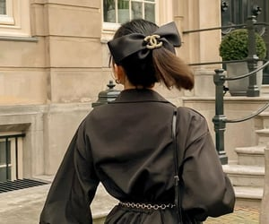 chanel, black, and fashion image