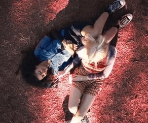 couple, euphoria, and rue and jules image