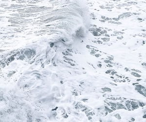 wallpaper, ocean, and white image