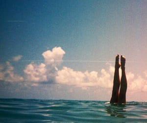 sea, summer, and ocean image