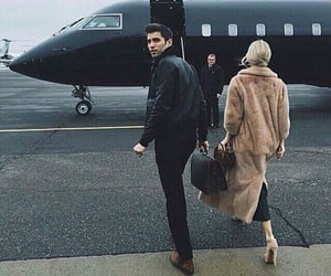 couple, luxury, and black image