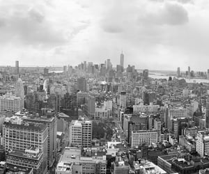 downtown, manhattan, and new york image