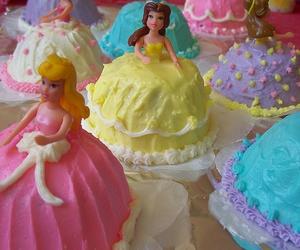 princess, cake, and disney image