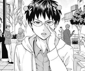 manga, anime, and saiki k image