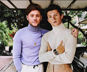 niall horan and tom holland image