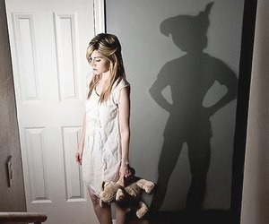 peter pan, shadow, and disney image