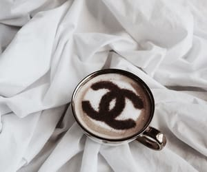 chanel, coffee, and drink image