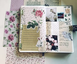 journal, journaling, and plannerlove image