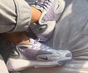 sneakers, nike, and purple image