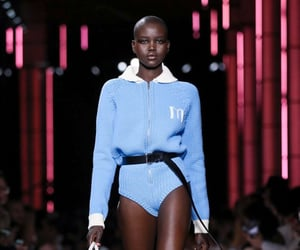 aesthetic, blue, and Couture image