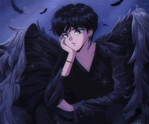 bts, anime, and taehyung image