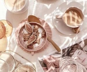 bags, cacke, and caffeine image