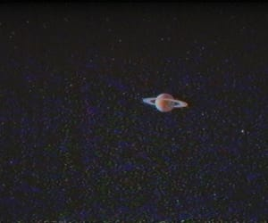 space, saturn, and aesthetic image
