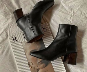 boots, black, and fashion image