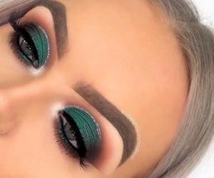 makeup, make-up, and style image