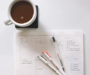 coffee, college, and lists image