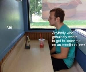 alone, meme, and forever alone image