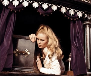 blonde, Dracula, and fashion image