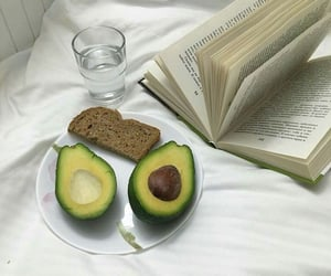 aesthetic, avocado, and food image
