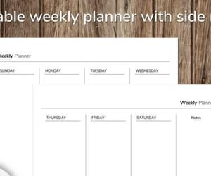 personalized, weekly calendar, and etsy image