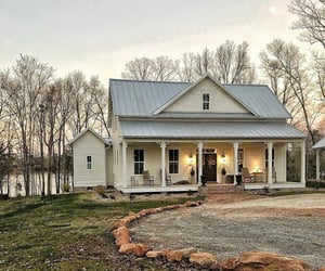 country living, farmhouse, and homes image