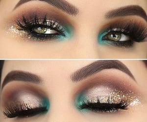 eyeliner, glitter, and photography image