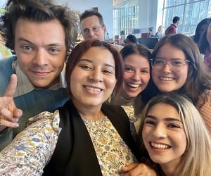fans and Harry Styles image