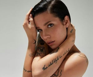 awesome, cool, and halsey image