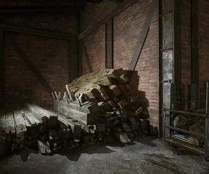 abandoned, brick, and pile image