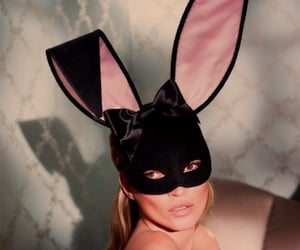 bunny ears, fashion, and kate moss image