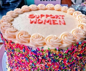 cake, colors, and empowerment image