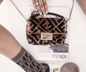 fendi, coffee, and style image
