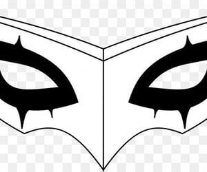 joker, persona, and mask image