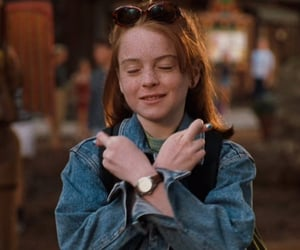 movies, lindsay lohan, and the parent trap image