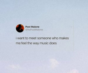 feelings, music, and sky image