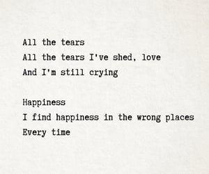 crying, Lyrics, and the archer image
