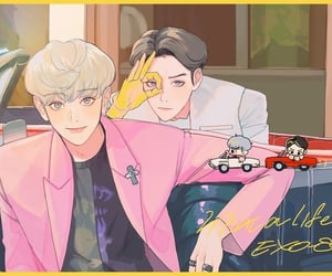 61, we are one, and exo fanart image