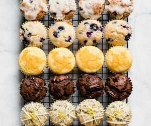 muffin, chocolate, and food image