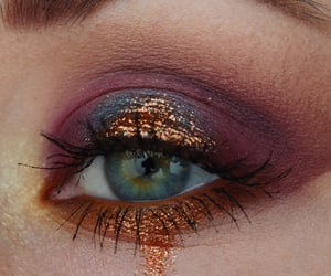 glitter, make up, and beauty image